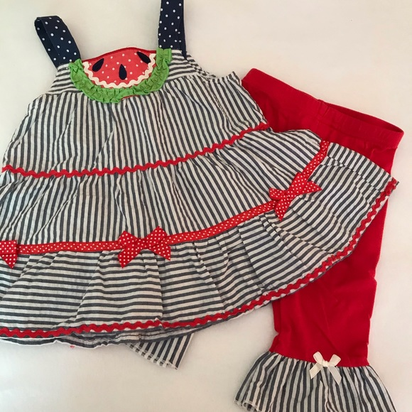Nannette Watermelon 2 piece pants set